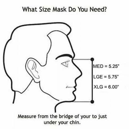 U2 Sportmask Size Guide